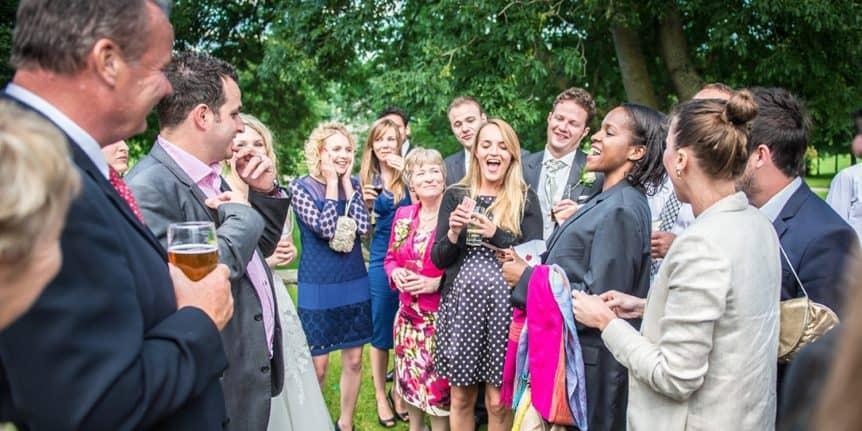 Yorkshire Magician | Jordan O'Grady wedding magician in Doncaster